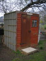 DIY shed construction