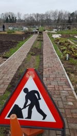 Bottom road repairs 2020 nearly finished